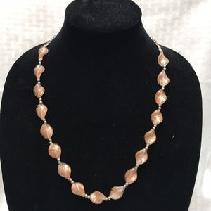 Jewelry - Two Tone Glass Beaded Necklace